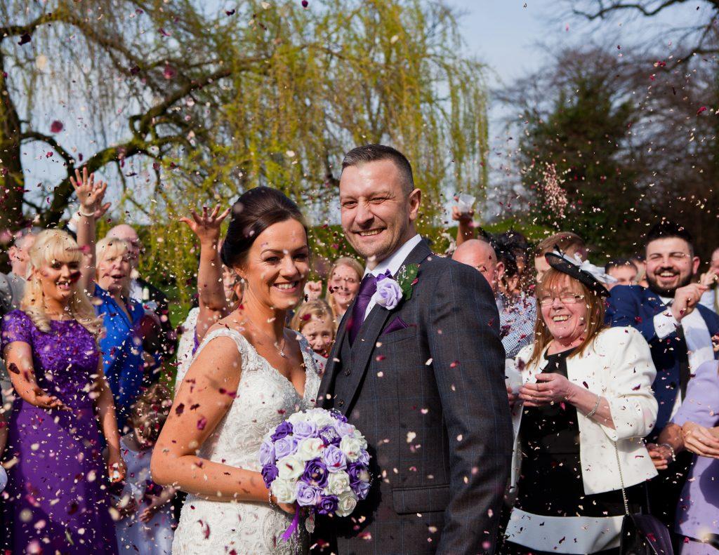 Lancashire wedding photography at farington lodge