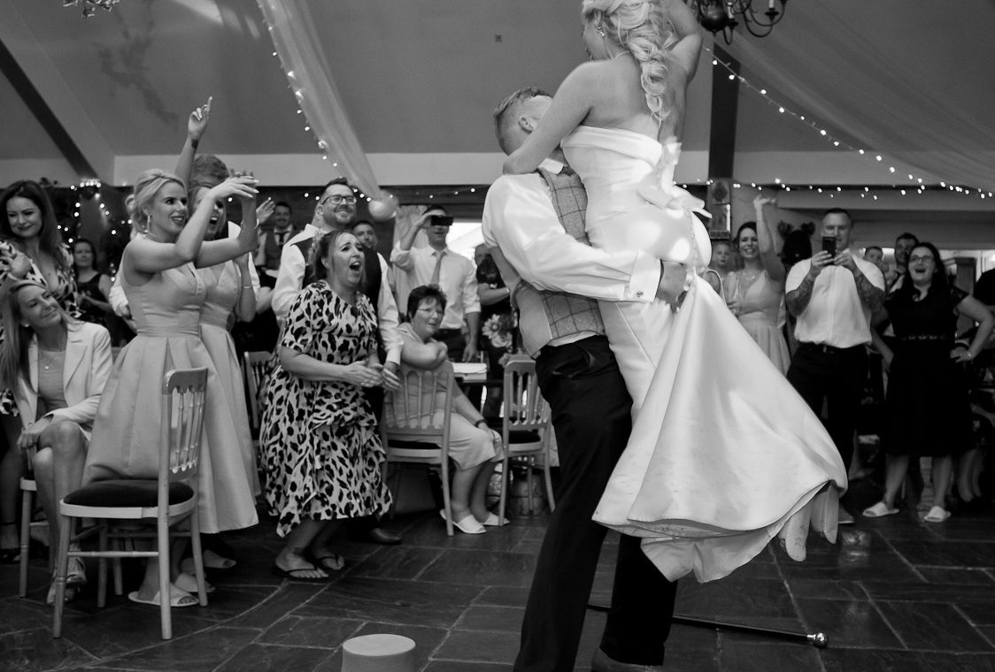 first dance at Heskin Hall Lancashire