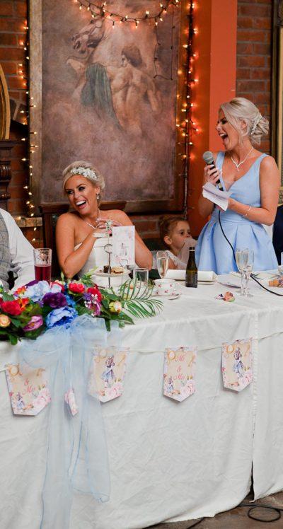 wedding speech at heskin hall lancashire