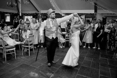 dancing photograph at heskin hall wedding lancashire