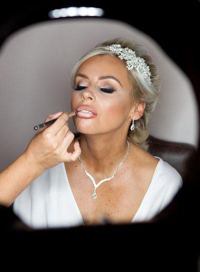 bride at kilhey court lancashire