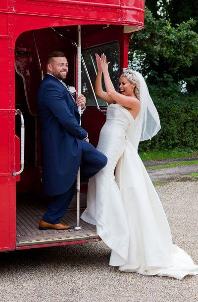 wedding photograph at heskin hall lancashire