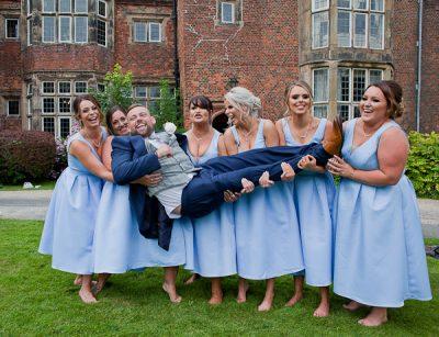 wedding image at heskin hall lancashire