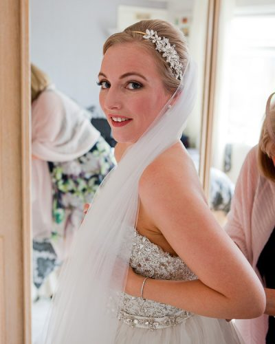 bridal prep at wedding liverpool