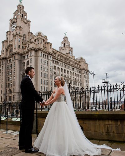 wedding at liver building liverpool