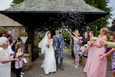 wedding at lund parish lancashire