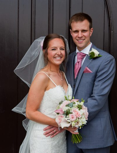 newlyweds at lund parish lancashire