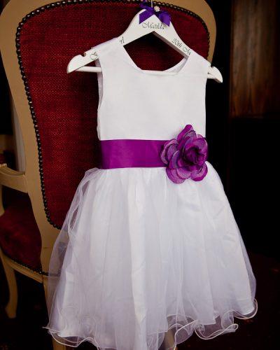 flowergirl dress at lancashire wedding