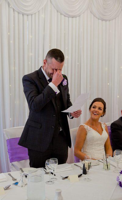 wedding speech at farington lodge lancashire
