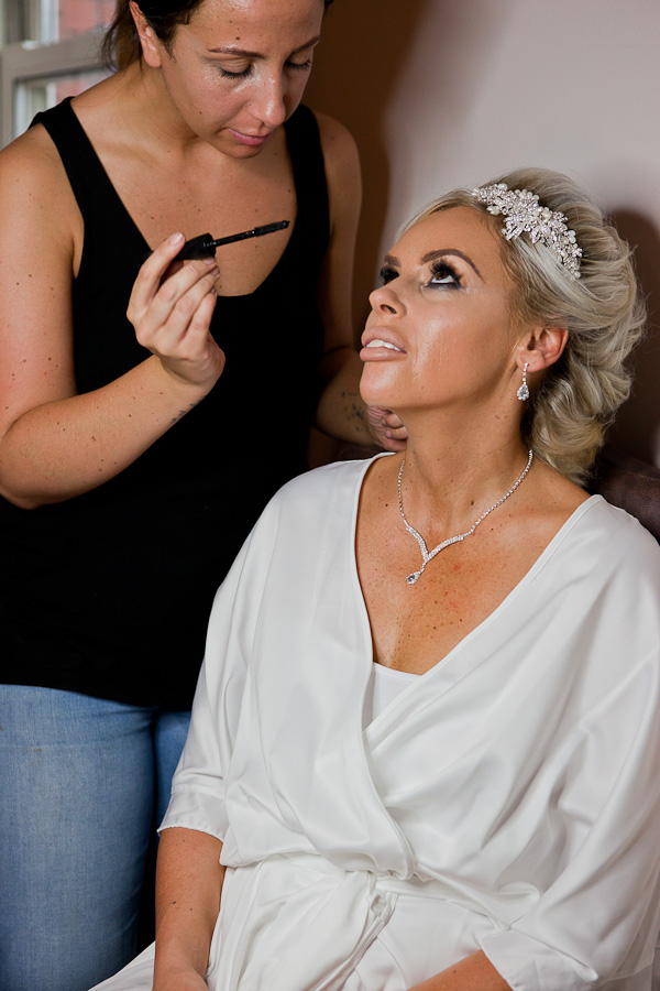 bride at kilhey court lancashire
