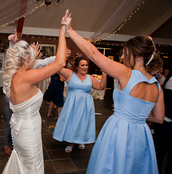 dancefloor at heskin hall lancashire