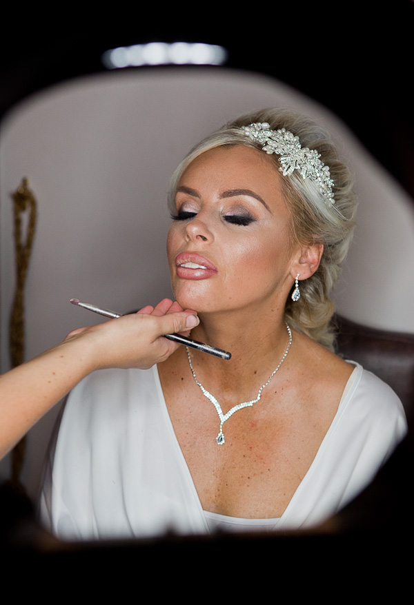 bride at kilhey court standish lancashire