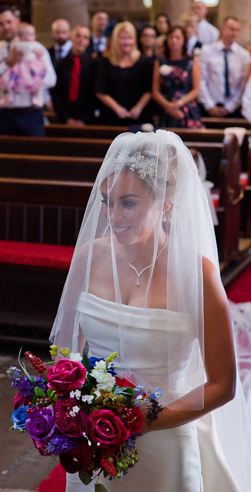 bride at St Wilfred's standish lancashire