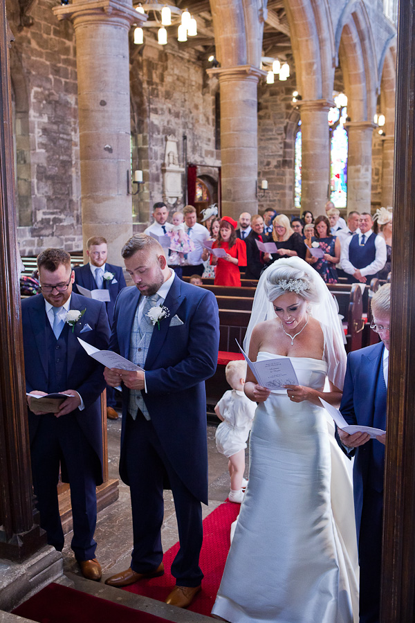 church wedding photographs standish lancashire