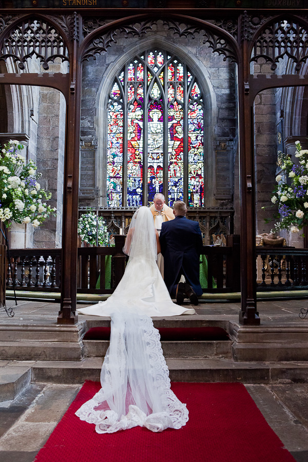 St Wilfreds wedding photographs standish lancashire