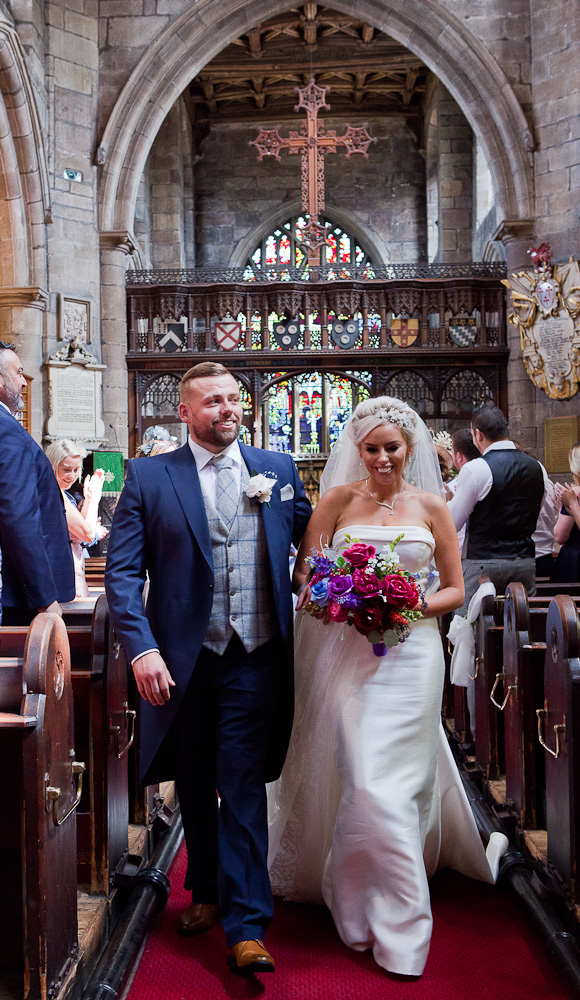 wedding photographs St Wilfred's standish lancashire