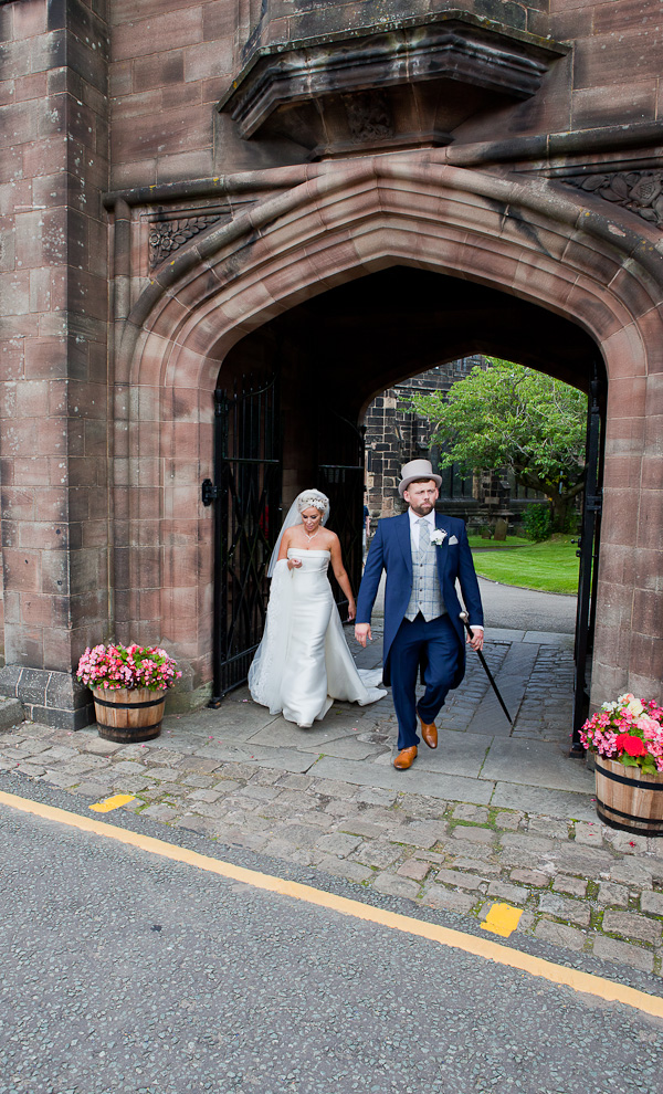 bride and groom st wilfred's standish lancashire