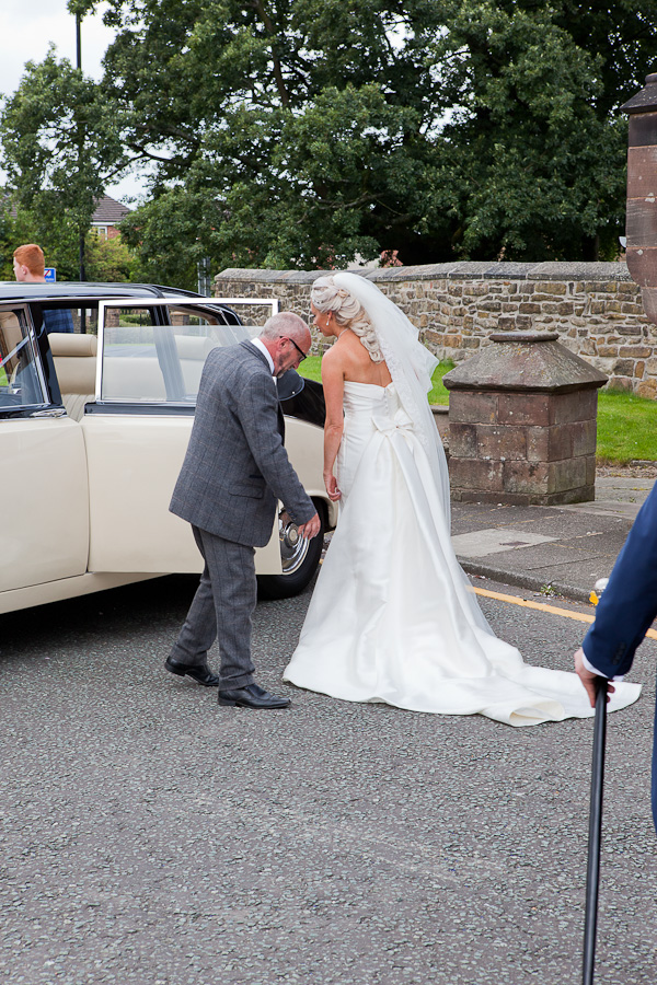 wedding car standish lancashire