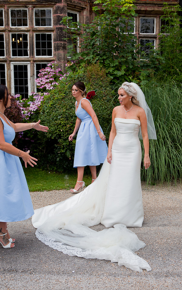 brides at heskin hall lancashire