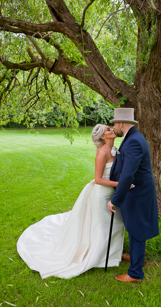 married couple at heskin hall lancashire