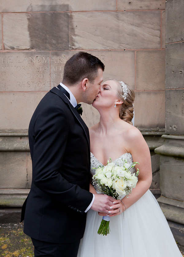 bride and groom liverpool