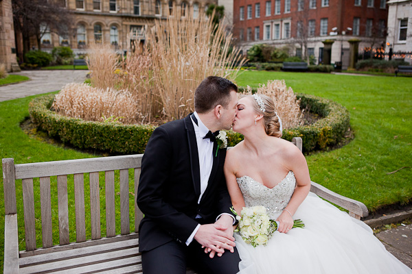 bride and groom liverpool wedding