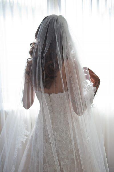 bride at manchester wedding
