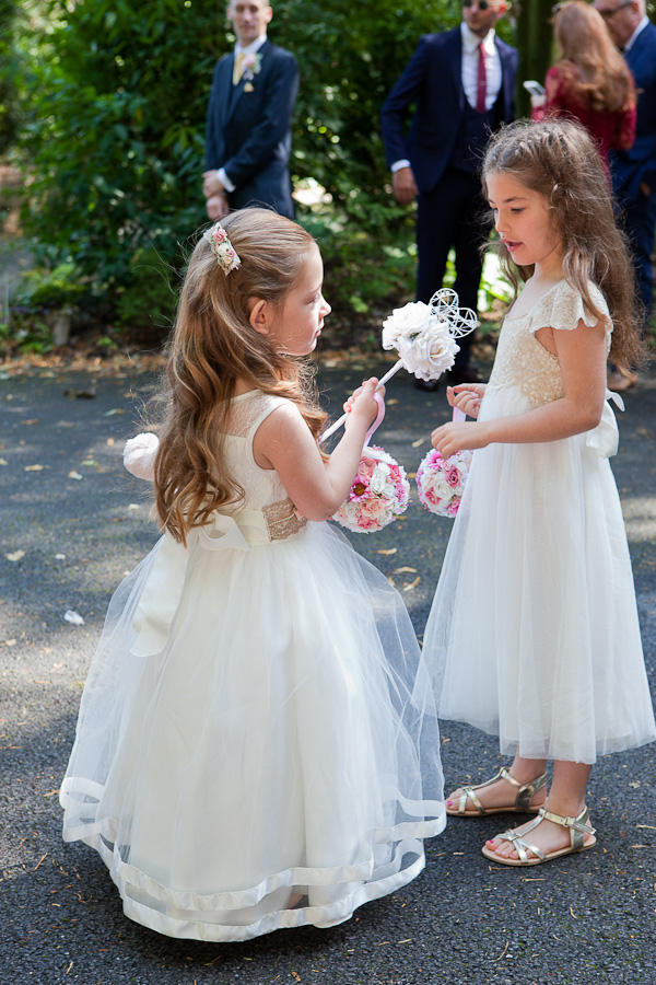 flowergirls at manchester wedding