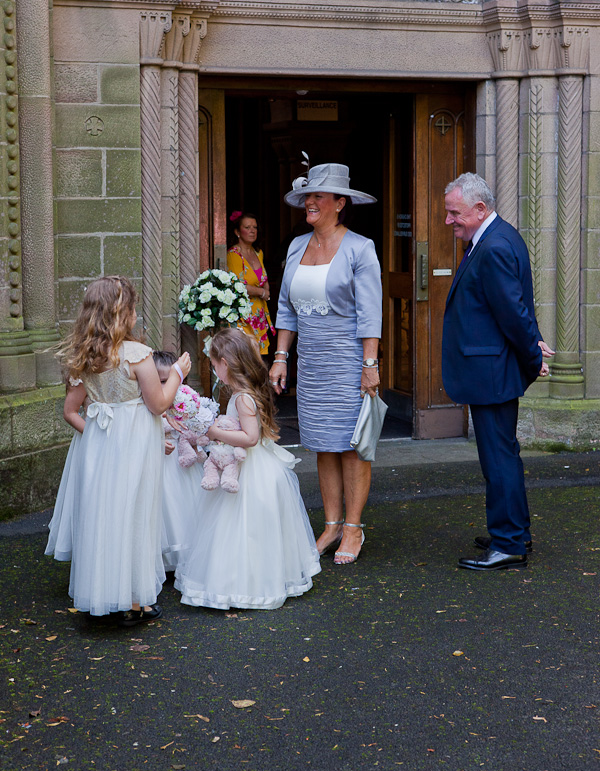 wedding at church ashton-in-makerfield