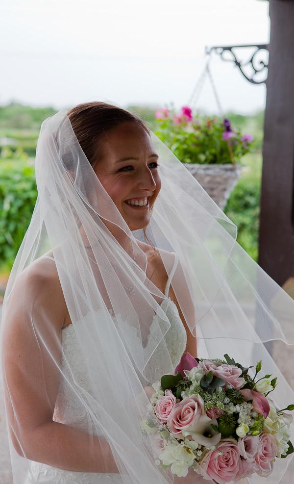 bride at clifton wedding