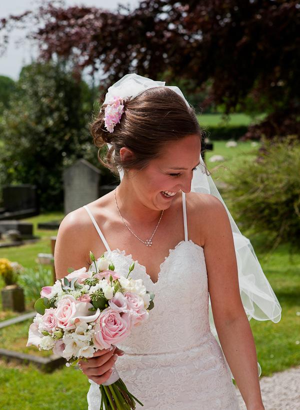 bride at clifton wedding preston