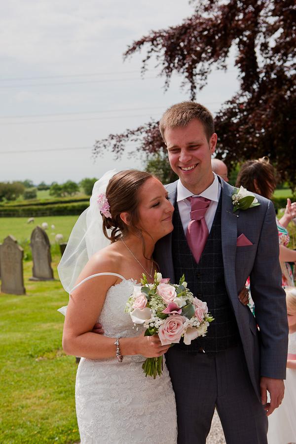couple at preston wedding clifton