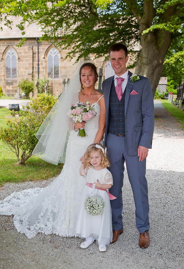 wedding at lund parish church preston