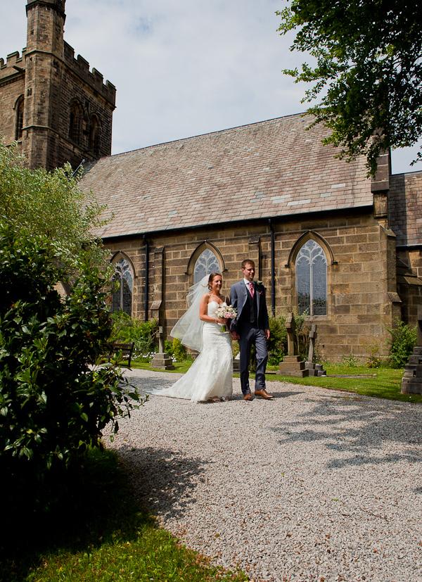 wedding at preston church