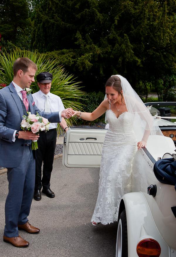 bride at the marriott preston