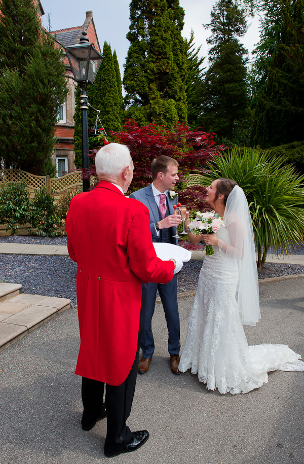 wedding at the marriott preston