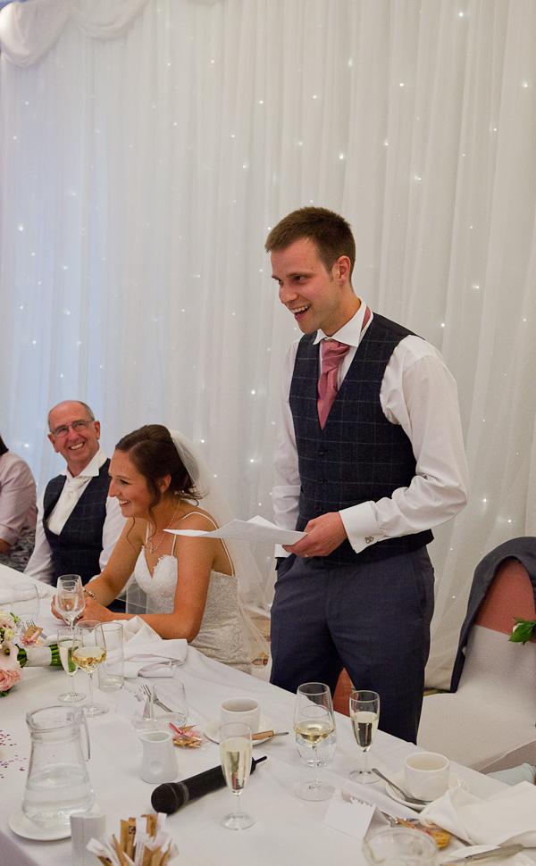 groom speech at the marriott lancashire