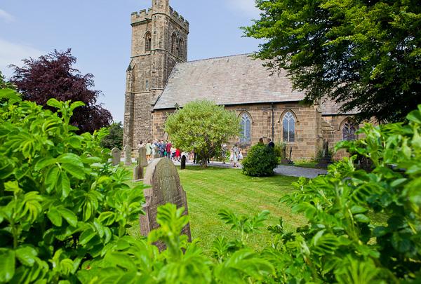 lund parish church in preston