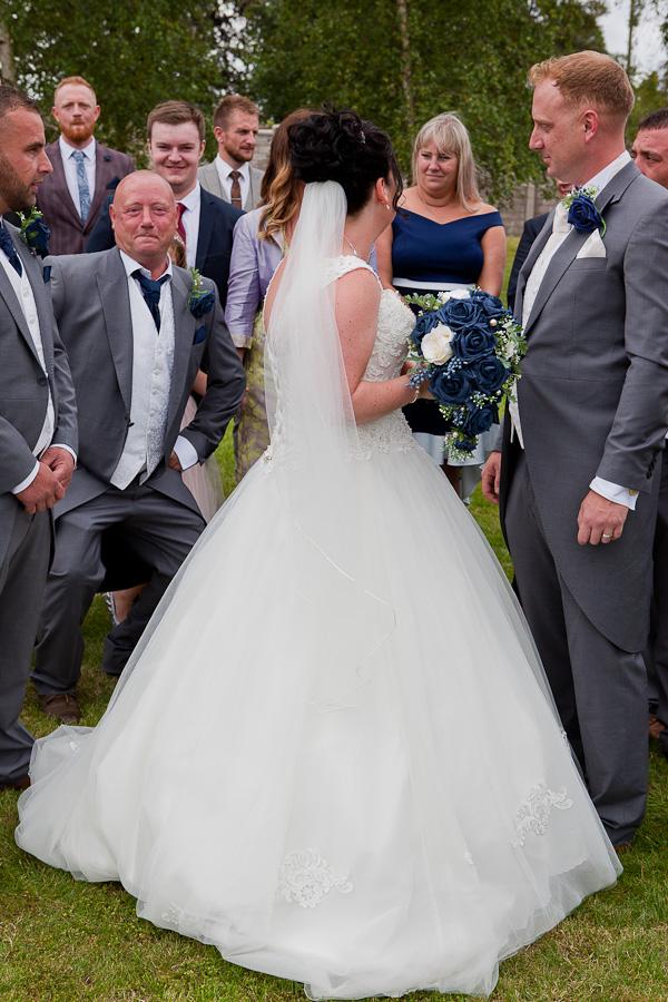 wedding party at barton grange preston