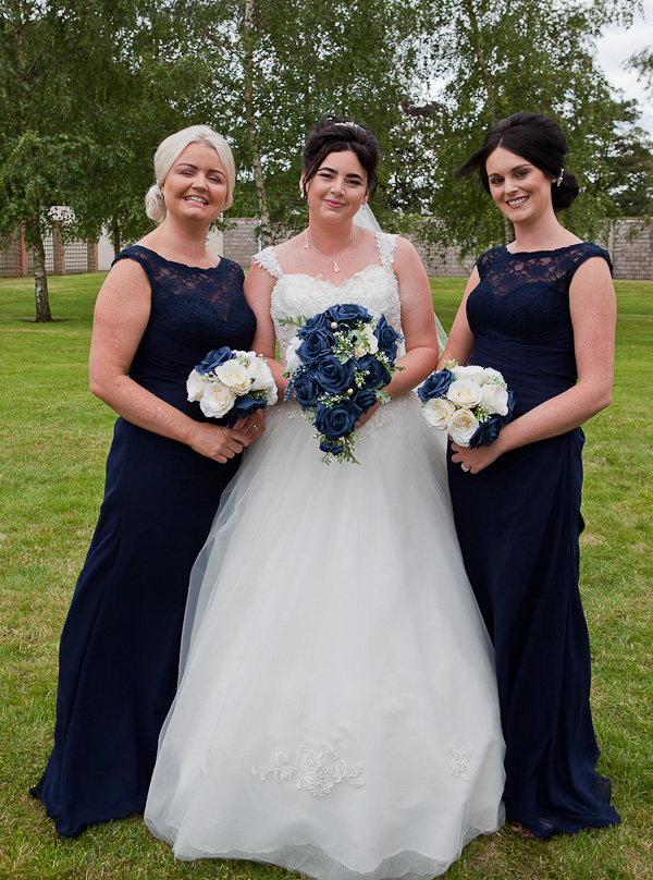 bridesmaids at barton grange preston