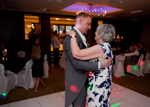 dancing photograph at barton grange wedding