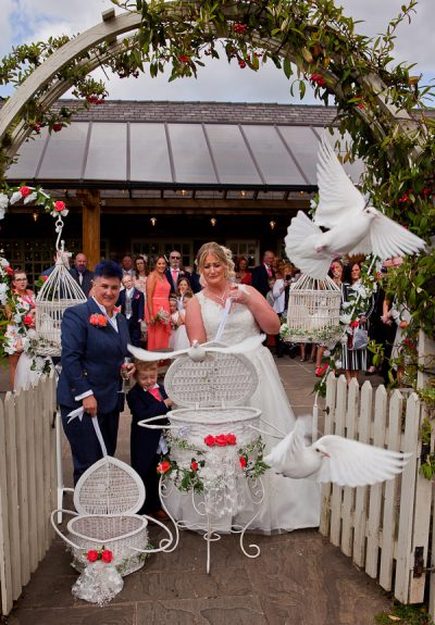 wedding at charnock farm lancashire