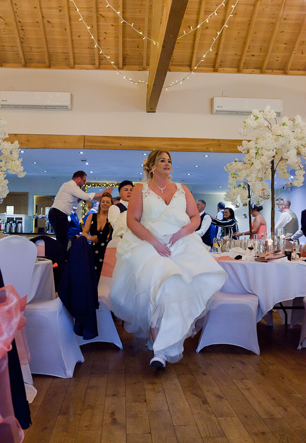 dancing at charnock farm wedding