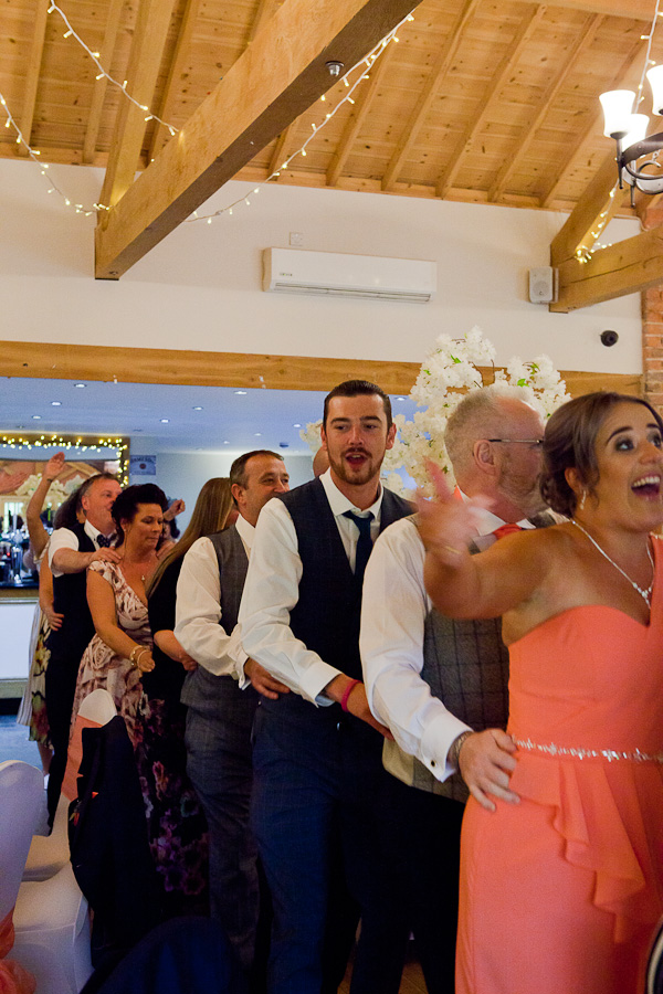 wedding reception at charnock farm lancashire