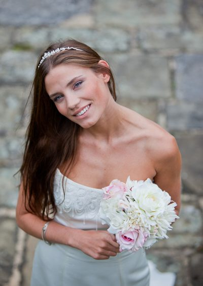 bride image at wedding lancashire