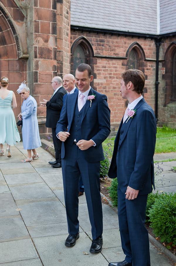 groomsman wedding photograph liverpool