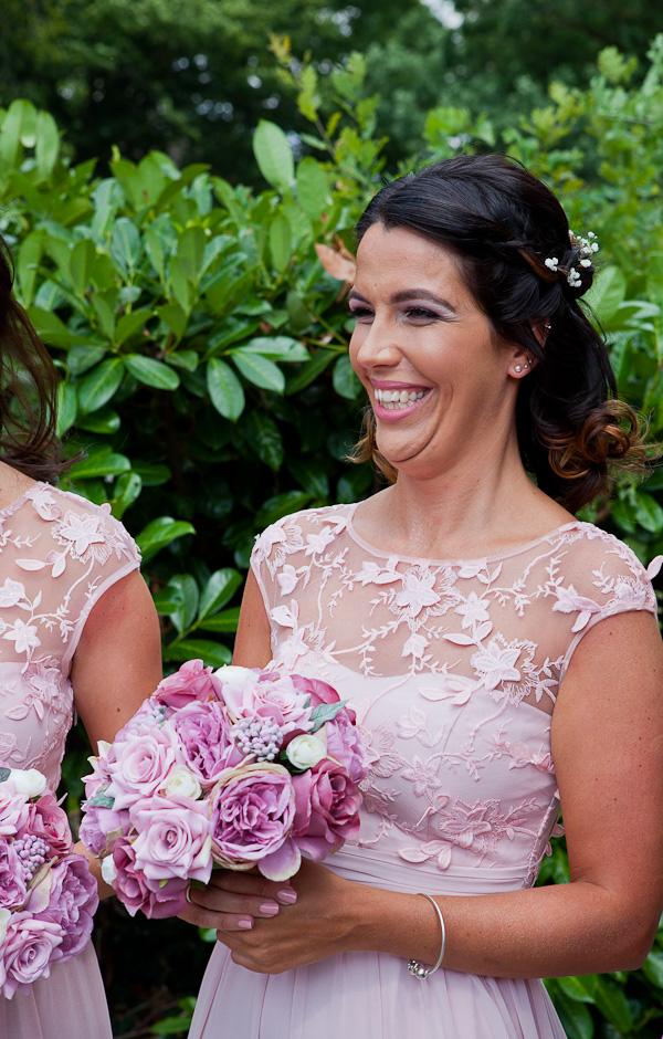 bridesmaid wedding photo liverpool