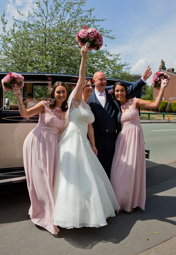 bridal party photograph liverpool