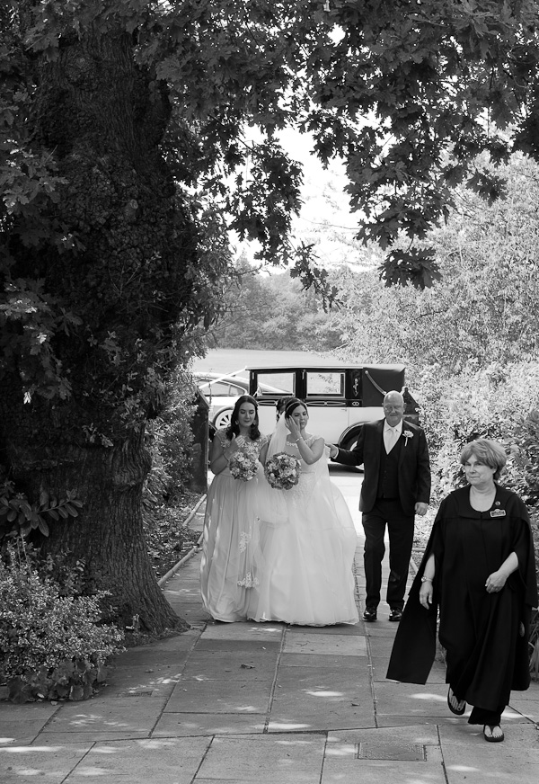 black and white wedding photograph liverpool