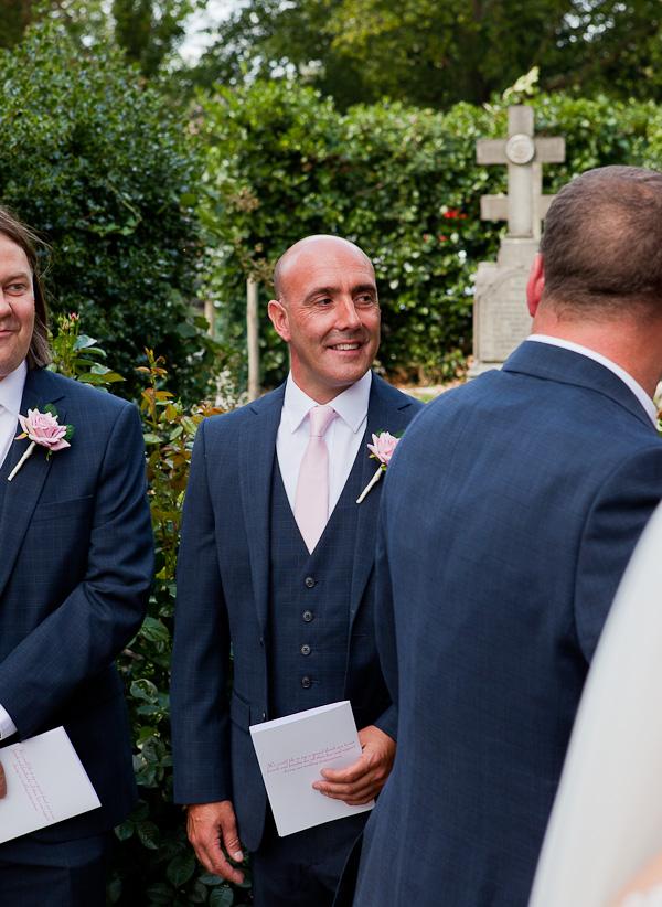 groomsman at wedding liverpool